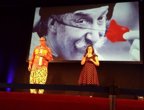 Mediolanum University and Patch Adams in Albano